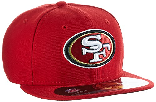 New Era Erwachsene Baseball Cap Mütze NFL On Field San Francisco 59 Fifty Fitted, Rot, 7 1/2, 10529748