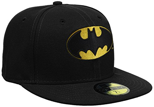 New Era Cap Character Basic Batman, Black, 7 1/2, 10862338
