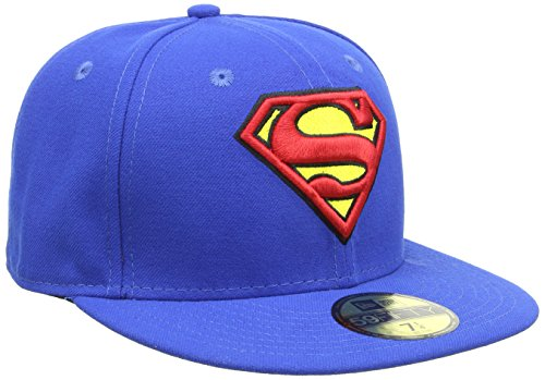 New Era Cap Character Basic Superman, Blue, 7 5/8, 10862337