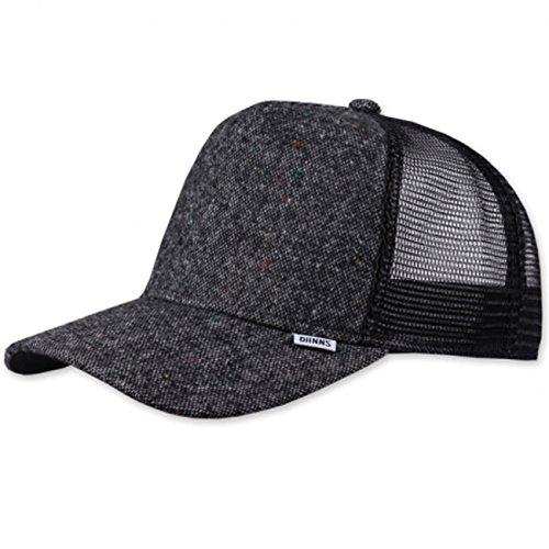 DJINNS - Felt Rubber (black) - Trucker Cap Meshcap Hat Kappe Mütze Caps