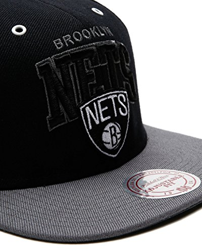 Mitchell & Ness Brooklyn Nets BGW2 black/grey - 5