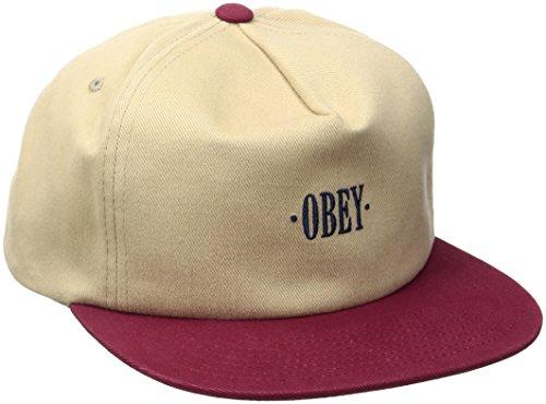 OBEY Herren Baseball Cap beige beige One size