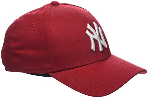 New Era Unisex Baseball Cap Mütze MLB Basic 9 Forty Adjustable, Scarlet/White, One Size, 10531938