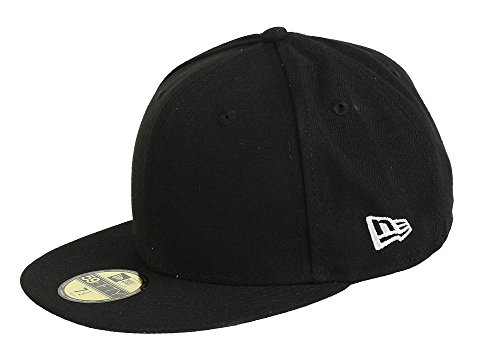 New Era Herren Schirmmütze Ne Original Basic 5950 59-Fifty, Schwarz, 7.125, 80102171