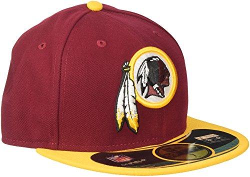 New Era Cap NFL Washington Redskins on Field, Maroon, 7 1/2, 10529743