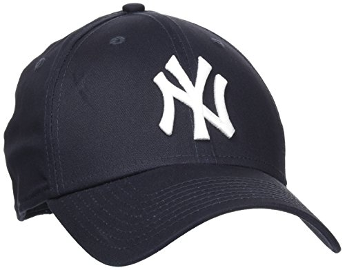 New Era Erwachsene Baseball Cap Mütze MLB Basic NY Yankees 39 Thirty Stretch Back, Navy/White, M/L, 10145636
