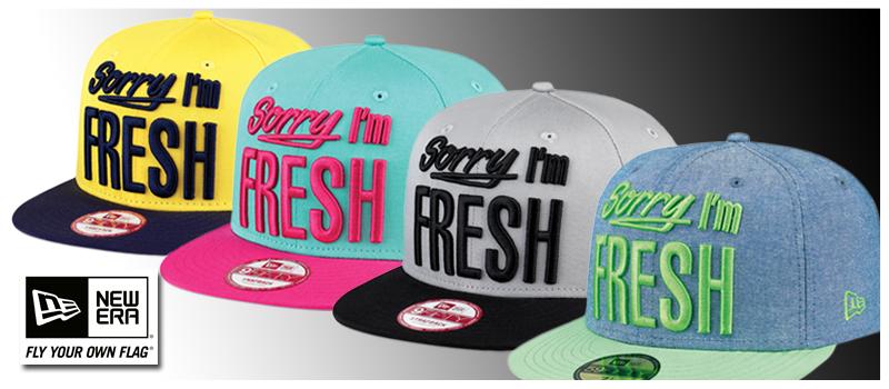 Sorry I´m Fresh Caps von New Era