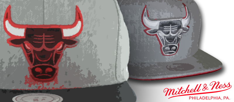 Chicago Bulls Cap von Mitchell and Ness