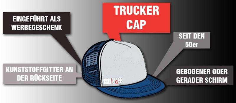 Trucker Caps Logo